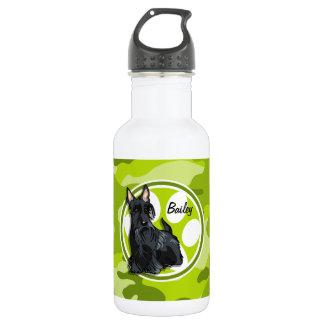 シュナウツァー; 若草色の迷彩柄、カムフラージュ ウォーターボトル
