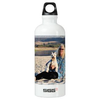 シュナウツァー-錫の錫 ウォーターボトル