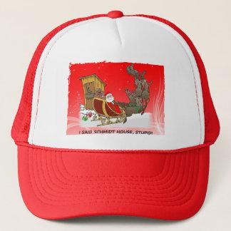 シュミツトの家のおもしろいなクリスマスの帽子 キャップ