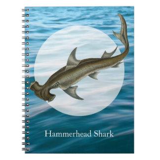 シュモクザメの海洋生物 ノートブック