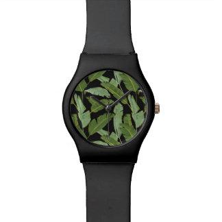 シュロの葉 腕時計