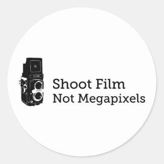 シュートのフィルムないMegapixels ラウンドシール