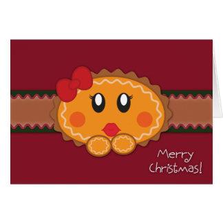 ショウガおよびSnapzDumplingのクリスマスカード カード