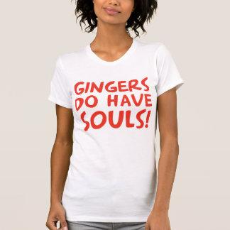 ショウガに精神があります Tシャツ