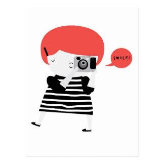 ショウガのカメラマン ポストカード