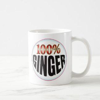 ショウガのラベル コーヒーマグカップ