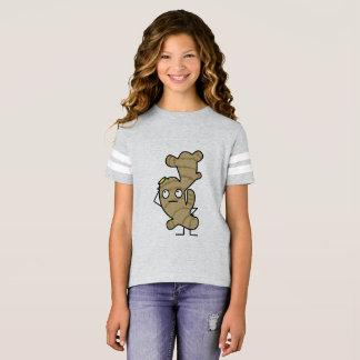 ショウガの根の健康なアジアスパイス Tシャツ