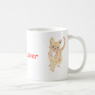 ショウガの猫好きのマグ コーヒーマグカップ