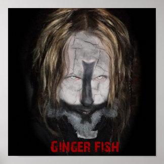 ショウガの魚の司祭ポスター ポスター