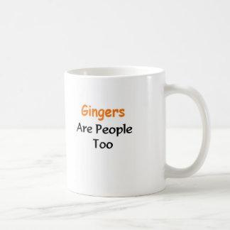 ショウガは人々ですも コーヒーマグカップ