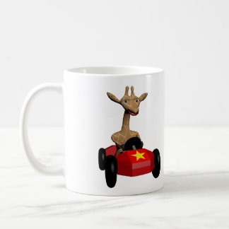 ショウガキリンの競争 コーヒーマグカップ