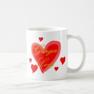 ショウガ愛 コーヒーマグカップ