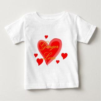 ショウガ愛 ベビーTシャツ