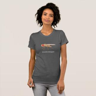 ショウジョウバエの女性のティー Tシャツ