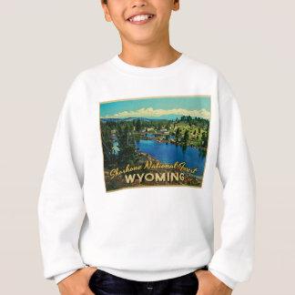 ショショーニ族の国有林ワイオミング スウェットシャツ