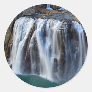 ショショーニ族の滝 ラウンドシール