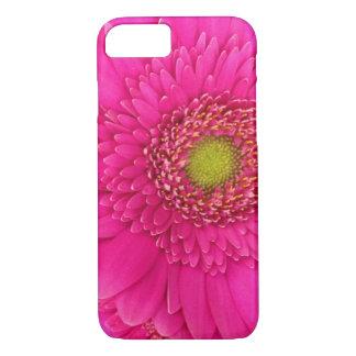 ショッキングピンクのガーベラのデイジーの携帯電話カバー iPhone 8/7ケース
