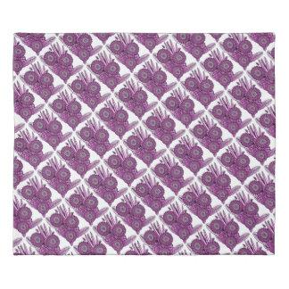 ショッキングピンクのガーベラのデイジーの花の花束 掛け布団カバー