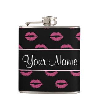 ショッキングピンクのキス フラスク