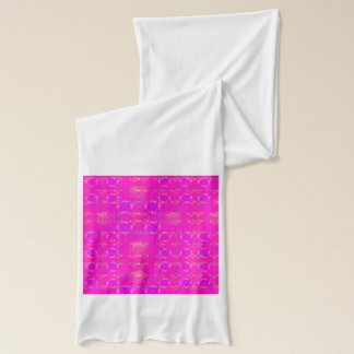ショッキングピンクのスカーフ スカーフ