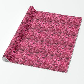 ショッキングピンクのツツジの花 ラッピングペーパー