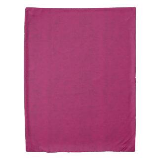 ショッキングピンクのビロードの一見の女の子夜 掛け布団カバー