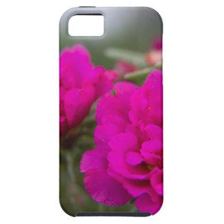 ショッキングピンクのベゴニアの花 iPhone SE/5/5s ケース