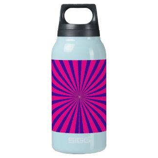 ショッキングピンクの紫色のスターバスト日曜日はトンネルの眺めを放射します 断熱ウォーターボトル
