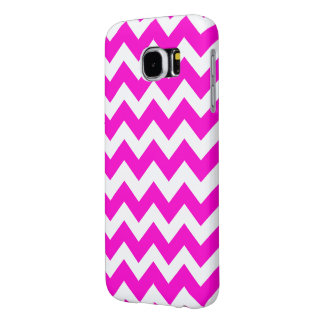 ショッキングピンクの蛍光ピンク SAMSUNG GALAXY S6 ケース