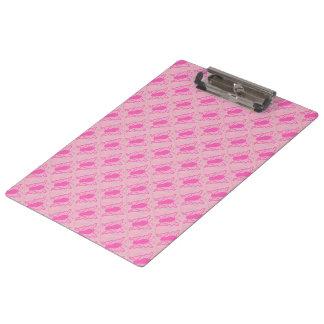 ショッキングピンクの蝶 クリップボード