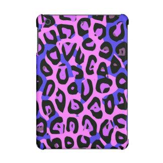 ショッキングピンクの青の抽象芸術のチータ