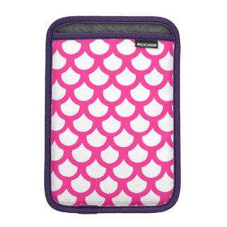 ショッキングピンクの魚スケール1 iPad MINIスリーブ