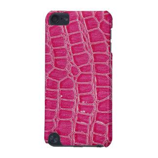 ショッキングピンクのCrocのワニのTouch iPod Touch 5G ケース