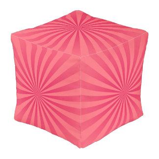ショッキングピンク日曜日は背景を放射します プーフ
