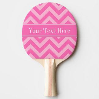 ショッキングピンク#2の綿菓子LGシェブロンの一流のモノグラム 卓球ラケット