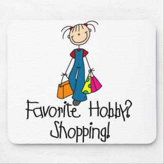 ショッピングのお気に入りのな趣味のマウスパッド マウスパッド