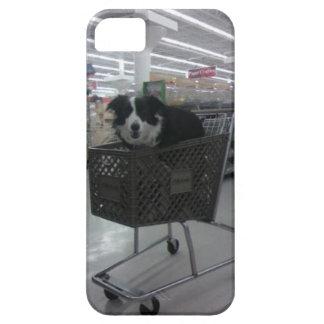 ショッピングの場合のボーダーコリー iPhone SE/5/5s ケース