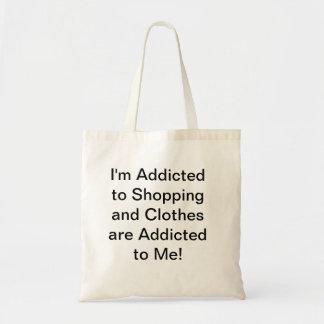 ショッピングの常習 トートバッグ
