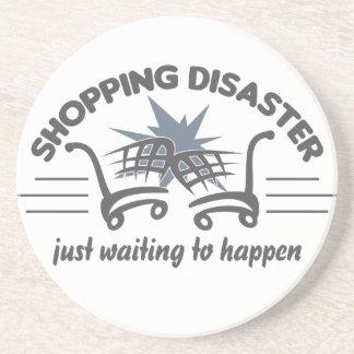 ショッピングの災害のコースター コースター