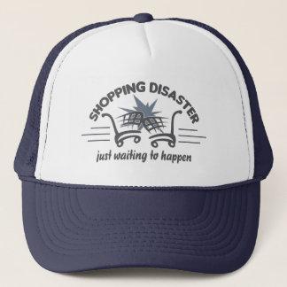 ショッピングの災害の帽子-色を選んで下さい キャップ