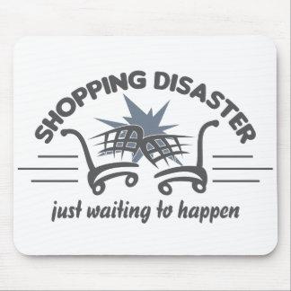 ショッピングの災害のmousepad マウスパッド