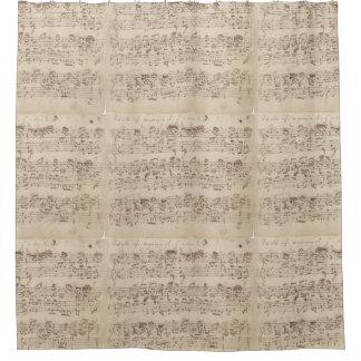 ショパン音楽はシャワー・カーテンに注意します シャワーカーテン