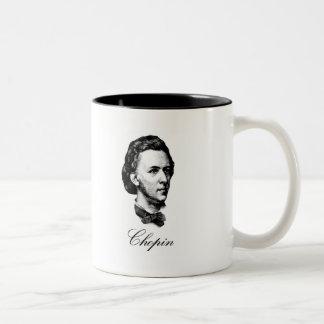 ショパン ツートーンマグカップ
