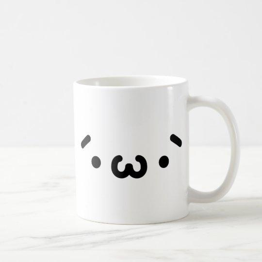 ショボーンフェイス コーヒーマグカップ