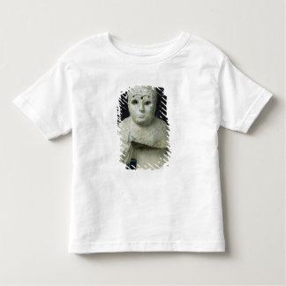 ショール、Akkadianの期間を持つ女性の小像 トドラーTシャツ