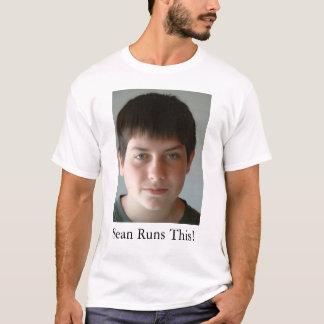 ショーンはこれを走ります! Tシャツ