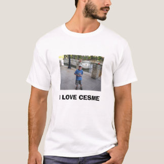 ショーン、私はCESMEを愛します Tシャツ