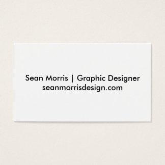 ショーンMorrisの名刺 名刺