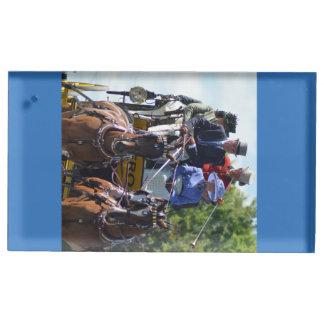 ショー2015年を運転するクルミの丘キャリッジ テーブルカードホルダー