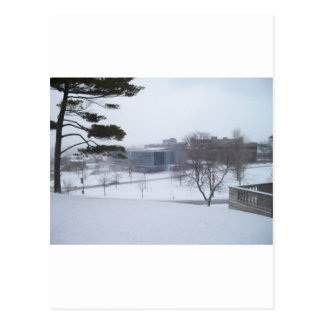 シラキュースの冬 ポストカード